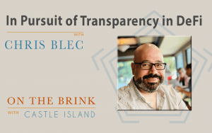 Chris Blec (DeFi Watch) on the Pursuit of Transparency in DeFi