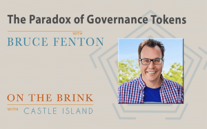 Bruce Fenton (Chainstone Labs) on the paradox of governance tokens