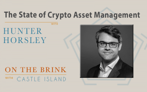 Hunter Horsley (Bitwise) on the State of Crypto Asset Management