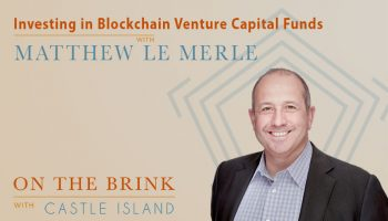 Matthew Le Merle (Blockchain Coinvestors) - Investing in Blockchain Venture Capital Funds